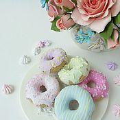 Дизайн и реклама ручной работы. Ярмарка Мастеров - ручная работа Пончики из полимерной глины. Handmade.
