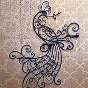 Цветы и флористика handmade. Livemaster - original item Panels forged stand for flowers