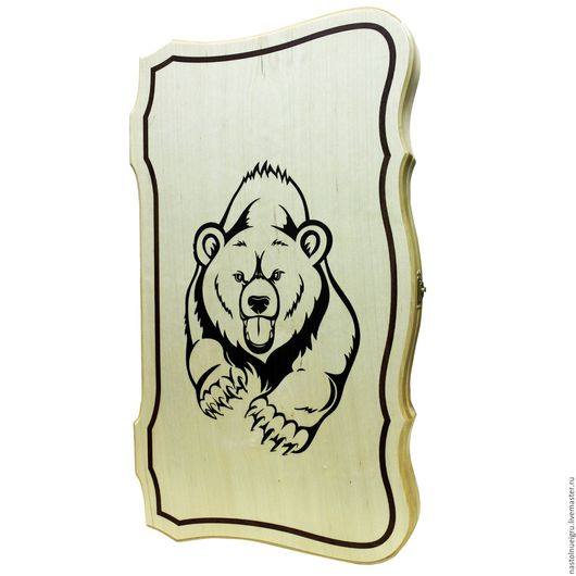 Настольные игры ручной работы. Ярмарка Мастеров - ручная работа. Купить Нарды «Медведь». Handmade. Нарды, нарды купить, бук