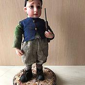 Куклы и игрушки handmade. Livemaster - original item Little soldier. Handmade.