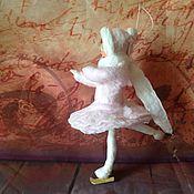 Куклы и игрушки ручной работы. Ярмарка Мастеров - ручная работа Ватная игрушка Балерина Арина. Handmade.