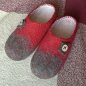 Обувь ручной работы. Ярмарка Мастеров - ручная работа Безукрас... Тапки-унисекс)))). Handmade.