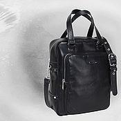 Сумки и аксессуары handmade. Livemaster - original item Leather men bag. Handmade.