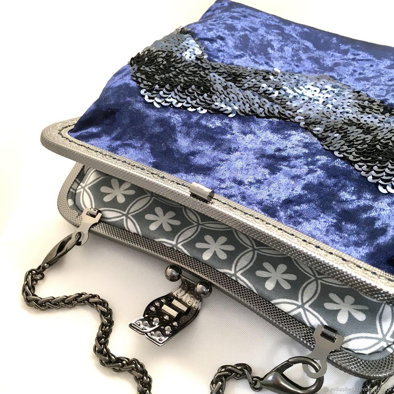 A wonderful handbag 'iris', Clasp Bag, Novosibirsk,  Фото №1