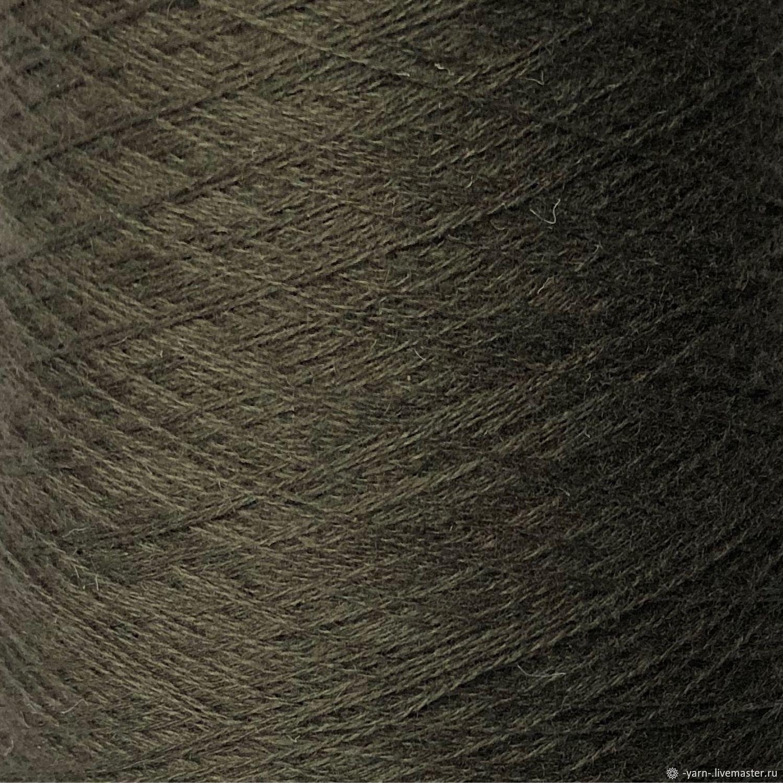 Пряжа Кашемир 2/28 болотный – купить на Ярмарке Мастеров – M36W4RU | Пряжа, Санкт-Петербург