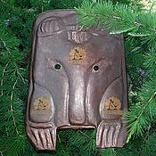 Фен-шуй и эзотерика ручной работы. Ярмарка Мастеров - ручная работа Ритуальная маска шамана медведь. Handmade.