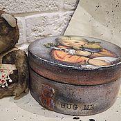 Для дома и интерьера ручной работы. Ярмарка Мастеров - ручная работа Обними меня, бонбоньерка детская. Handmade.