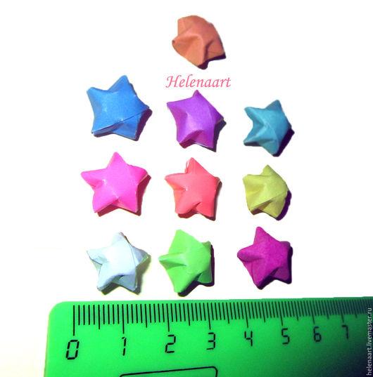 Упаковка ручной работы. Ярмарка Мастеров - ручная работа. Купить Объемные звёзды-оригами. Handmade. Бумага, звезда, звезда из бумаги