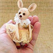 Сувениры и подарки handmade. Livemaster - original item Wooden mini mouse / wooden eco toy/. Handmade.