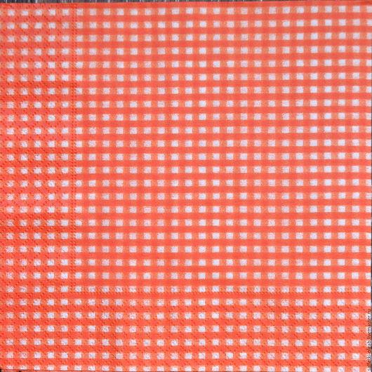 Декупаж и роспись ручной работы. Ярмарка Мастеров - ручная работа. Купить Салфетка  № 1650. Handmade. Салфетка для декупажа, коралловый