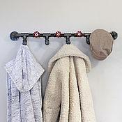 Для дома и интерьера handmade. Livemaster - original item Industrial style wall hanger, loft. Handmade.