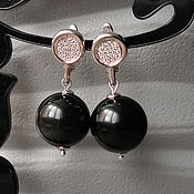 Украшения handmade. Livemaster - original item Rainbow Obsidian Earrings 2. Handmade.