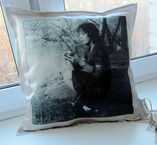 Персональные подарки ручной работы. Ярмарка Мастеров - ручная работа. Купить подушка с фото. Handmade. Комбинированный, фотокартина, подушка с принтом