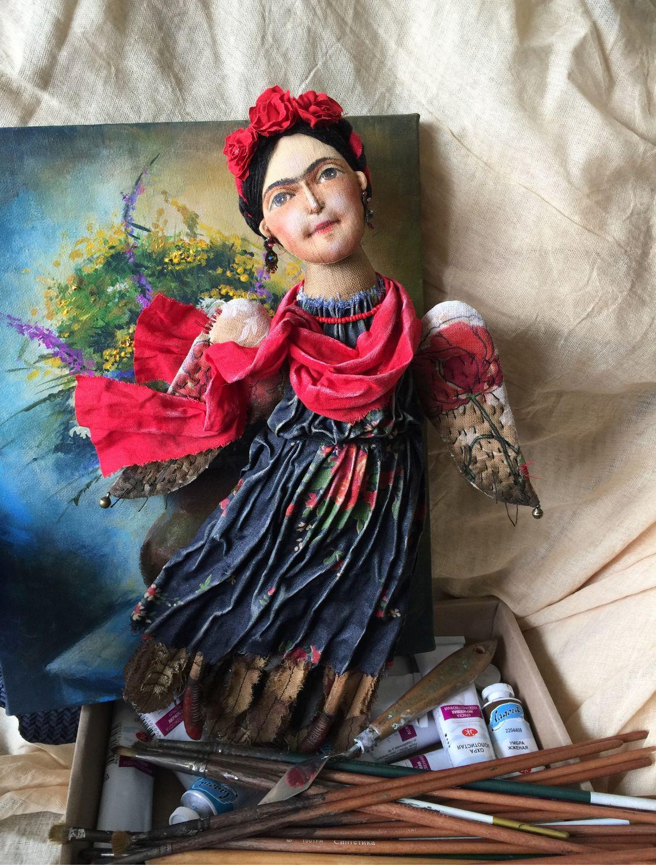 Птица-дева.Фрида, Чердачная кукла, Родино,  Фото №1