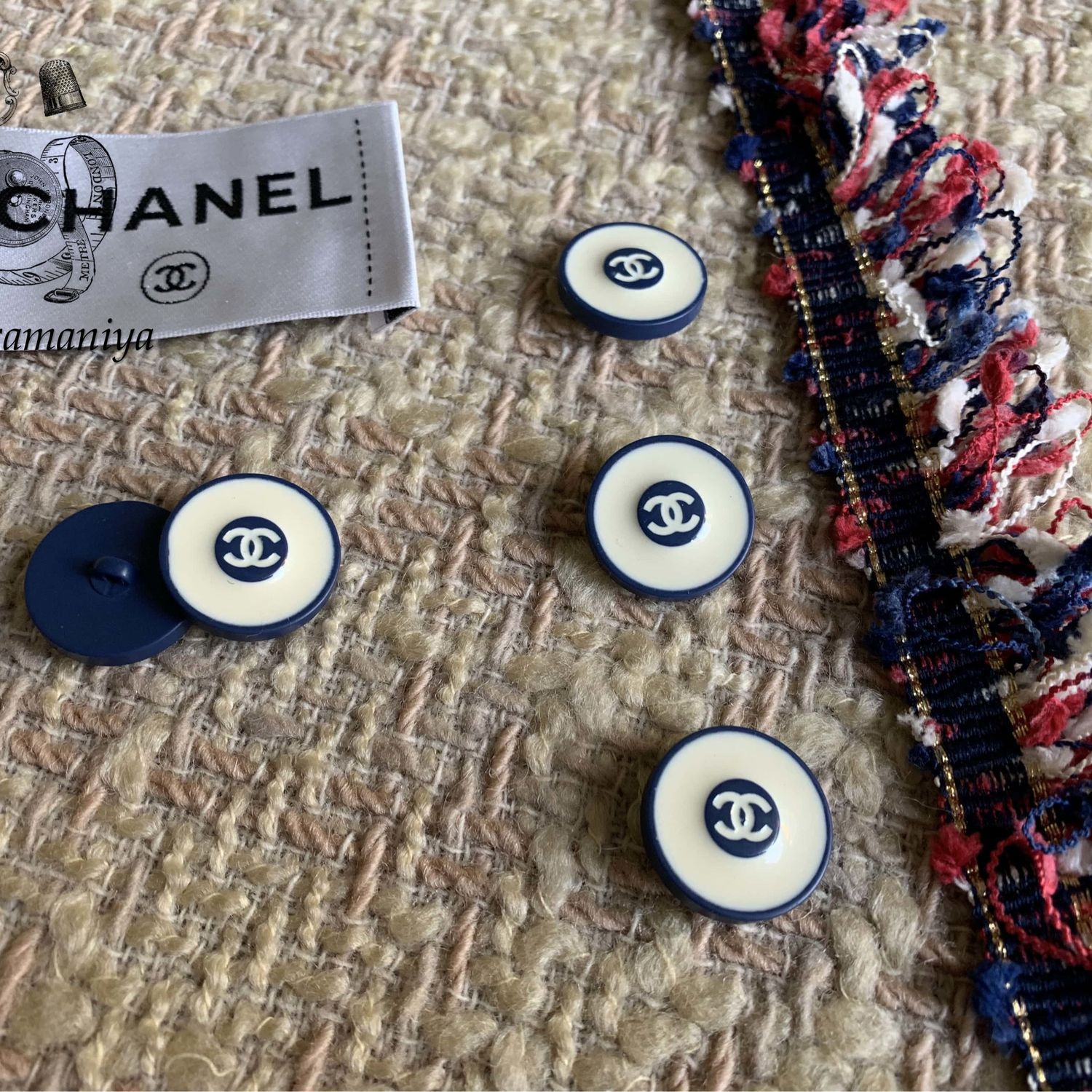 Buttons in the Chanel style, Buttons, Mytishchi,  Фото №1