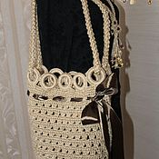 Сумки и аксессуары handmade. Livemaster - original item Beach tote .knitted jute.. Handmade.