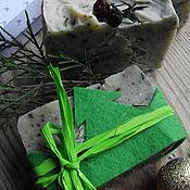 Косметика ручной работы. Ярмарка Мастеров - ручная работа Мыло с нуля «Можжевеловая роща». Handmade.