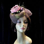 Аксессуары handmade. Livemaster - original item Hat evening