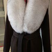 Одежда ручной работы. Ярмарка Мастеров - ручная работа Кашемировое зимнее пальто. Handmade.