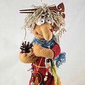 """Куклы и игрушки ручной работы. Ярмарка Мастеров - ручная работа Баба-Яга """" Чьи в лесу шишки"""". Handmade."""