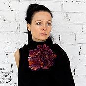Украшения handmade. Livemaster - original item Valena brooch fantasy on the theme of flowers. Handmade.