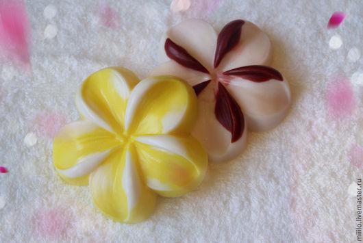 Мыло ручной работы. Ярмарка Мастеров - ручная работа. Купить мыло Цветок. Handmade. Разноцветный, мыло цветок, мыло в подарок