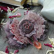 """Украшения ручной работы. Ярмарка Мастеров - ручная работа Брошь """" Лепестки роз """". Handmade."""