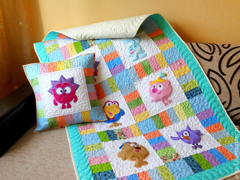 Пэчворк одеяла с аппликацией - Как своими руками сшить платье из шифона