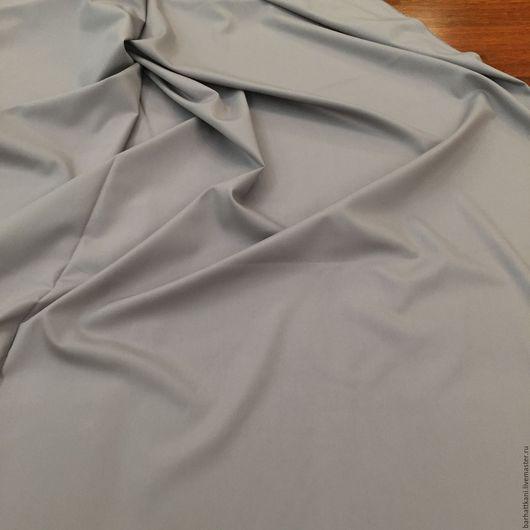Шитье ручной работы. Ярмарка Мастеров - ручная работа. Купить Итальянская костюмная ткань. Handmade. Серый