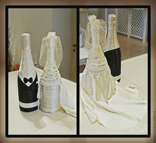 Свадебные аксессуары ручной работы. Ярмарка Мастеров - ручная работа. Купить Cвадьба,свадебное оформление,праздник,торжество,банкет,шампаское. Handmade.