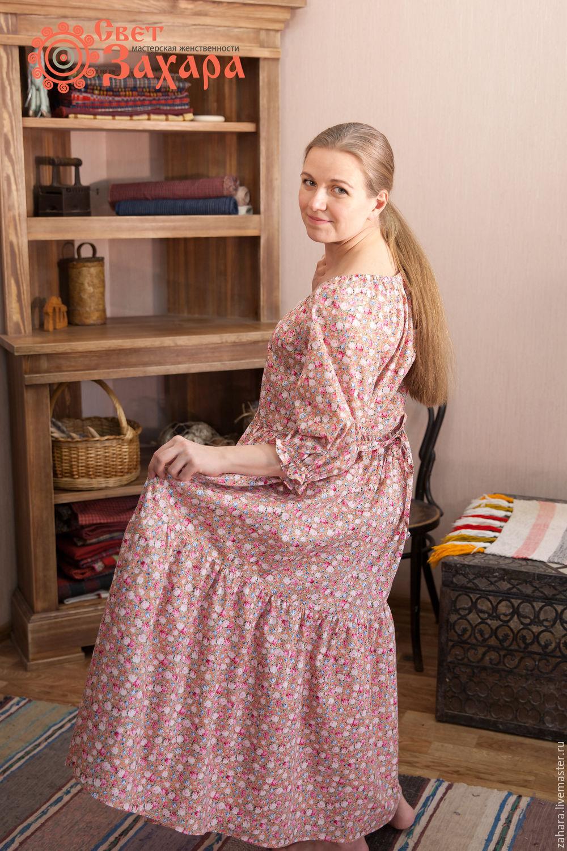 Ярмарка Мастеров. Для будущих и молодых мам ручной работы. Платье ярусное.  СветЗахара. 6b601b804d8