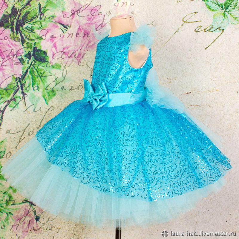 Нарядное платье для девочки Платье на выпускной Новый год