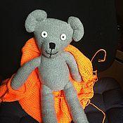 Куклы и игрушки ручной работы. Ярмарка Мастеров - ручная работа Мишка Тедди (Бин). Handmade.