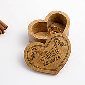 Materials for dolls and toys handmade. Livemaster - original item Wooden box with inscription. Handmade.