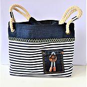 Сумки и аксессуары handmade. Livemaster - original item Textile summer bag
