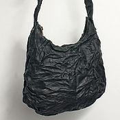 Сумки и аксессуары handmade. Livemaster - original item Shoulder bag, genuine leather, pressed.. Handmade.