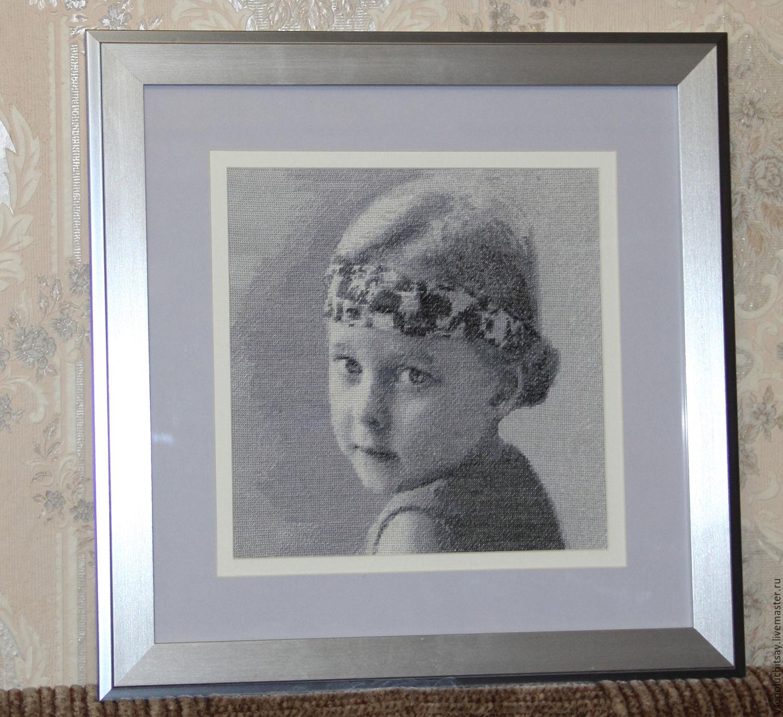 Заказать схему вышивки портрета