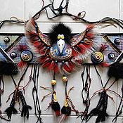 Картины и панно ручной работы. Ярмарка Мастеров - ручная работа Панно Танцующая ворона. Handmade.