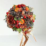 Подарки к праздникам ручной работы. Ярмарка Мастеров - ручная работа Топиарий новогодний Мандарин. Handmade.