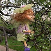 Куклы и пупсы ручной работы. Ярмарка Мастеров - ручная работа «Цветочная фея». Handmade.