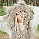 Fur hat with long ear flaps, Hat with ear flaps, Moscow,  Фото №1