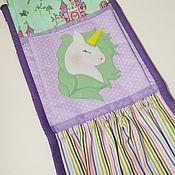 Для дома и интерьера handmade. Livemaster - original item Pockets in kindergarten. Handmade.