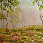 Картины и панно ручной работы. Ярмарка Мастеров - ручная работа Сиреневый туман. Handmade.