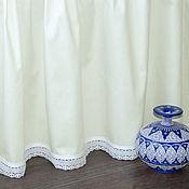 Подзоры и юбки для кровати ручной работы. Ярмарка Мастеров - ручная работа Подзор из сатина в стиле прованс. Handmade.