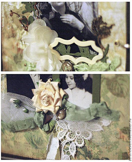 Фотоальбомы ручной работы. Ярмарка Мастеров - ручная работа. Купить Альбом для фотографий. Handmade. Фотоальбом, винтаж, ручная работа