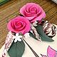 Интерьерные композиции ручной работы. Интерьерная композиция (рисунок+цветы).. Flor-ina handmade (Ирина). Ярмарка Мастеров. Картина, ракушки, роза