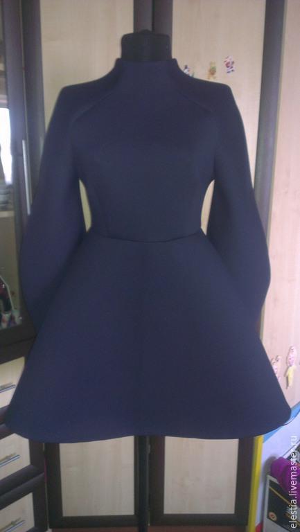 """Платья ручной работы. Ярмарка Мастеров - ручная работа. Купить Платье """"Меган"""". Handmade. Разноцветный, однотонный, неопрен, спортивный стиль"""