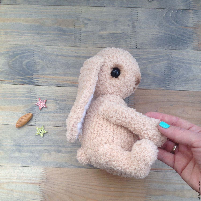 Мастер класс вязаний заяц