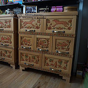 Для дома и интерьера handmade. Livemaster - original item Commode made of beech Sirin. Handmade.