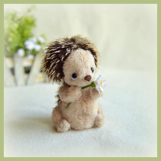 Мишки Тедди ручной работы. Ярмарка Мастеров - ручная работа. Купить Ромочка (7 см). Handmade. Бежевый, ромочка